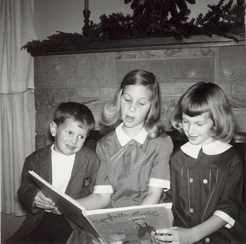 The Hyink Children Reading a Book