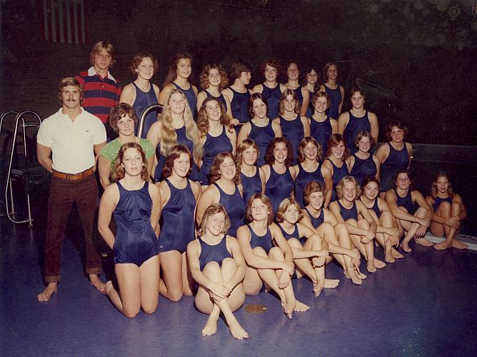 Creston High School Girls Swim Team