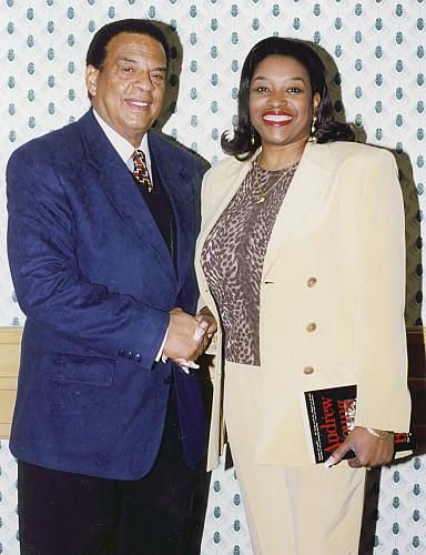 Eddie Rucker with Andrew Young