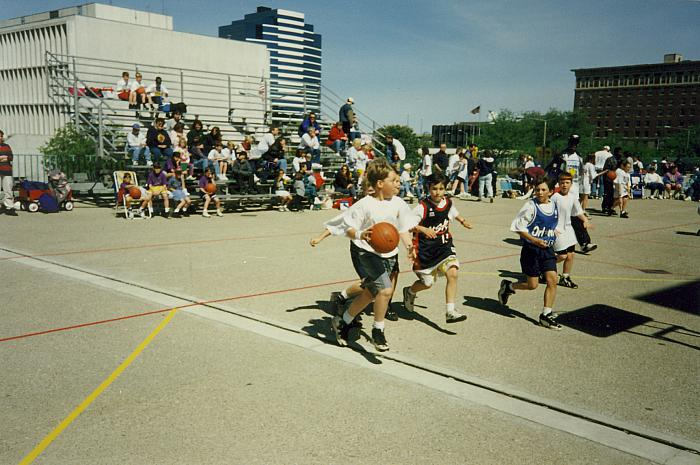 Gus Macker Tournament on Calder Plaza