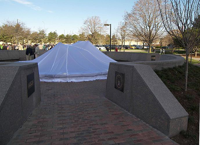 Spirit of Solidarity Monument Before Unveiling