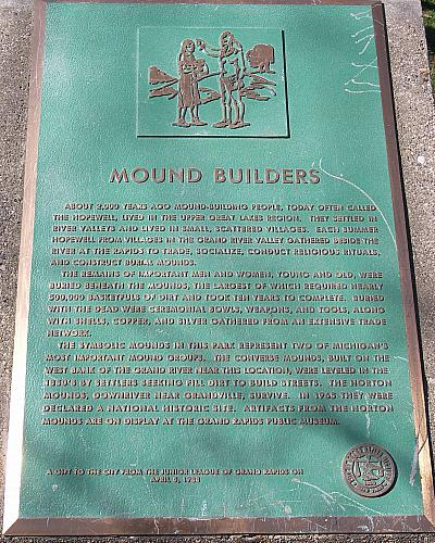 Mound Builders Plaque
