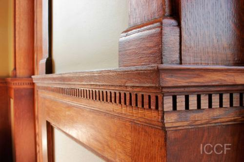 Restored Wood Trim