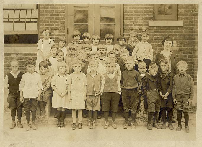 Hall School Class photo