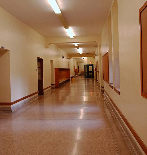 Eastern Elementary School - Second Floor Hall