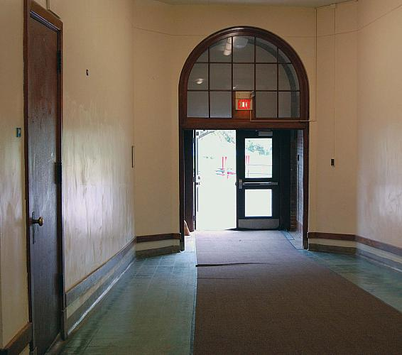 Eastern Elementary School - North Entrance, Second Floor