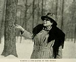 Etta Smith Wilson with Chickadee