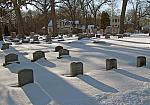 Washington Park, Polderman Headstones