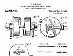 Charles E. Bedaux, Patent