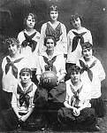 Helen Castenholz, and Girls' Basketball Team