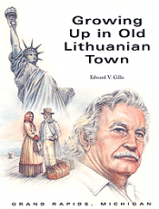 Growing up in Old Lithuanian Town (paper) cover